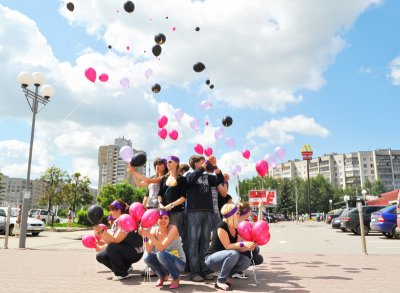 В Чувашии прошёл флэшмоб против абортов