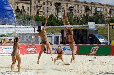 Мировой турнир по пляжному волейболу