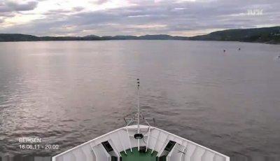 Круиз по Норвегии (2600 км. за 5 минут)
