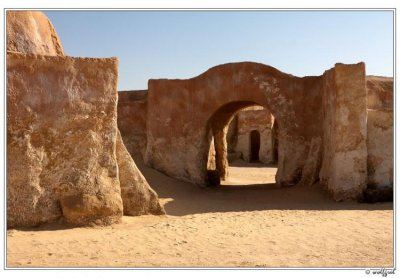 Планета-пустыня Татуин (15 фото)
