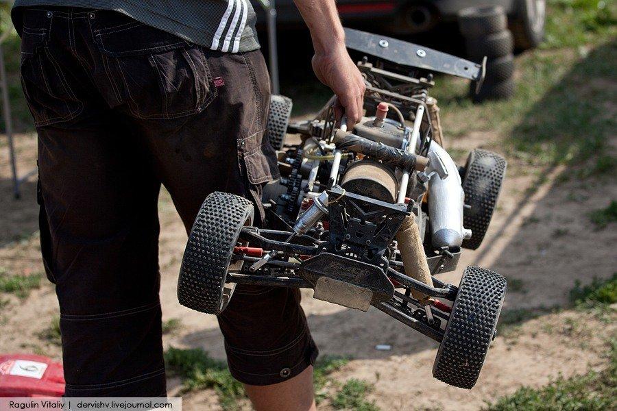 Радиоуправляемые машины с бензиновым двигателем своими руками 51