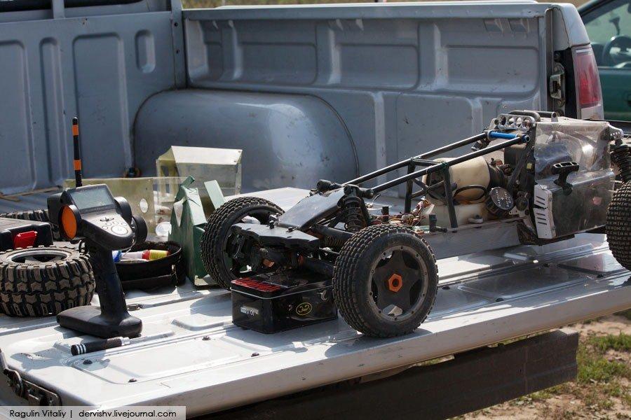 Радиоуправляемые машины с бензиновым двигателем своими руками 82