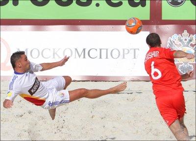 Суперфинал Евролиги-2011 по пляжному футболу в Москве