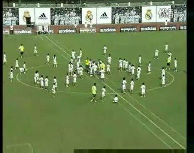 Матч Real Madrid - 109 китайских школьников. Счет 2:1