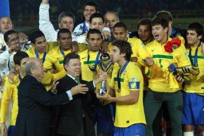 Сборная Бразилии выиграла чемпионат мира для игроков не старше 20 лет