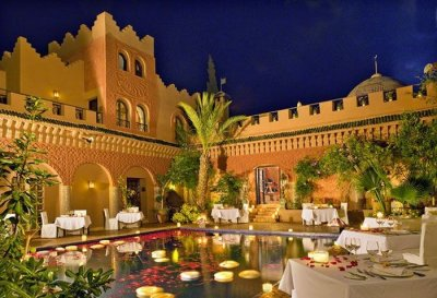 Отель Ричарда Брэнсона Kasbah Tamadot в Марокко (12 фото)