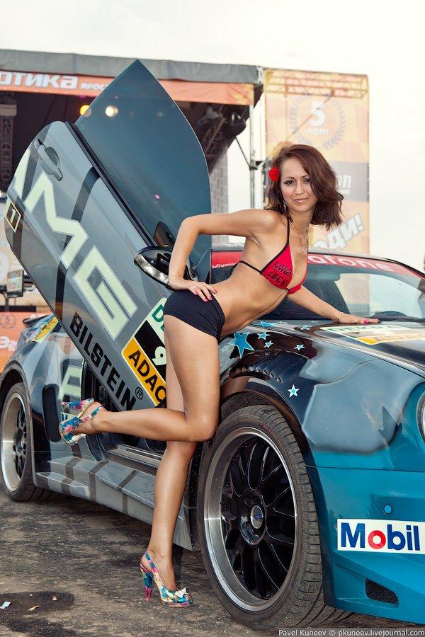 Девушка и автомобиль конкурс