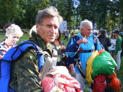 71-летний чебоксарец совершил прыжок с парашютом и попал в книгу рекордов РФ