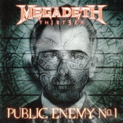 Megadeth - Public Enemy No.1 (Single) (2011)