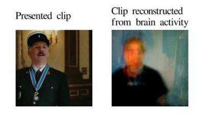 Учёным из Беркли удалось получить цифровую модель изображения, формируемого в сознании человека