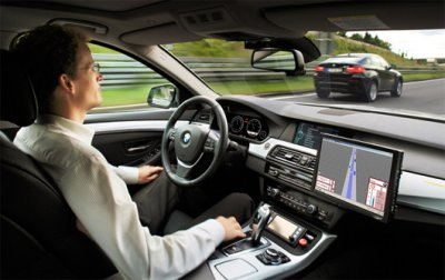 Автопилот BMW проехал по автобану Мюнхен-Нюрнберг