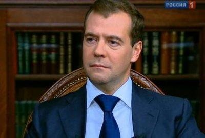 Интервью Дмитрия Медведева федеральным каналам