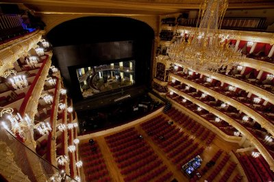 Большой театр: последние дни перед открытием