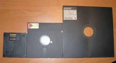 Вспоминая ... флоппики и дискеты
