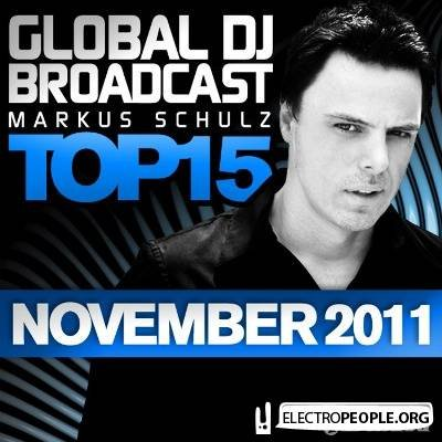 Global DJ Broadcast Top 15 November 2011