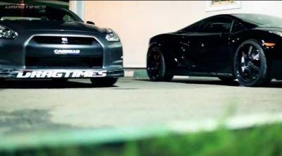 UGR Lamborghini (E-Gear) vs UGR Lamborghini (Manual) vs AMS Alpha 12 Nissan GT-R