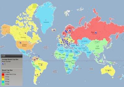 Карты мира, по которым не учат в школе