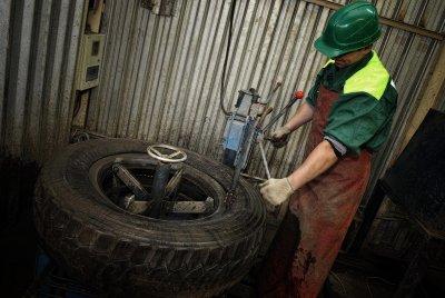 Завод по утилизации и переработке автомобильных шин