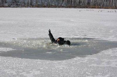МЧС предупреждает: осторожно - тонкий лед!