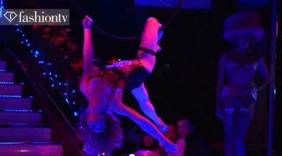 Sexy Lingerie & Burlesque Show at Pink Paradise Rose Club Launch, Paris