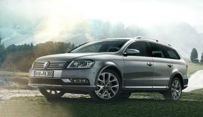 Volkswagen представит «внедорожный» универсал Passat Alltrack в Токио
