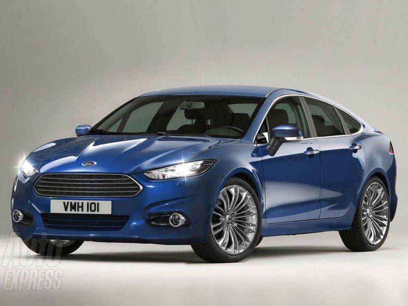 Новый Ford Mondeo 2012 года