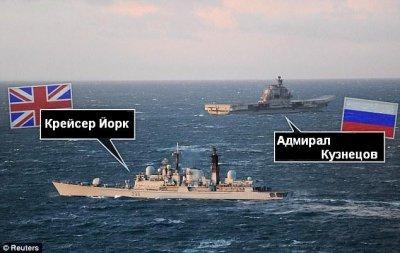Адмирал Кузнецов напугал всю Шотландию