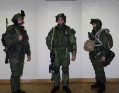 Экипировка военнослужащих ВС РФ к 2012 году