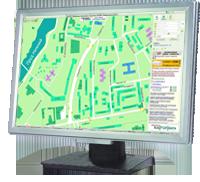 Карта-справочник ИнтерГИС Чебоксары