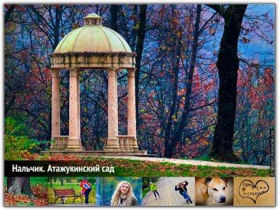 Скачать беседка, в осеннем, парке, фото, обои, картинка #327925