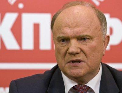 Зюганов обещает отмену выборов, спасение от кризиса и возрождение села