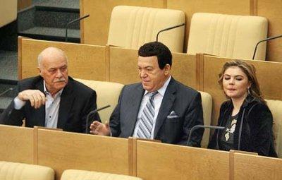 С.Говорухин: В.Путин выбрал ОНФ, так как ЕР наделала много ошибок