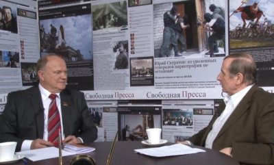 Беседа Михаила Веллера с Геннадием Зюгановым