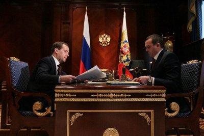 Рабочая встреча Главы Чувашии с Президентом России