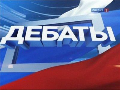 Поединок: Жириновский VS Прохоров (Эфир от 02/02/2012)