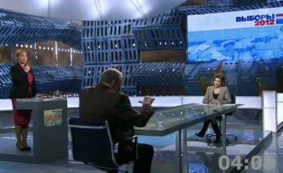 Выборы. Tеледебаты Жириновский – Нарочницкая 07.02.2012