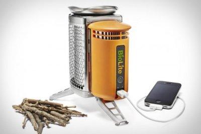 Походная печка BioLite – находка для кемперов-технофилов