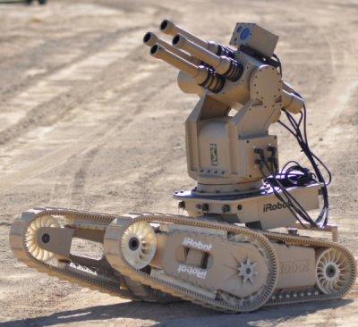 Продается новое оружие – боевые роботы. Дорого.