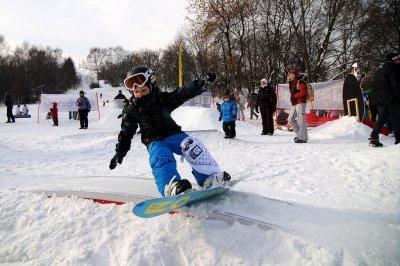 Сноуборд-парк для детей