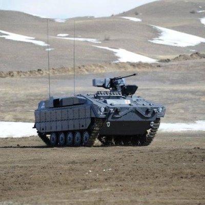 Министерство обороны Грузии представило новую БМП «Лазика»
