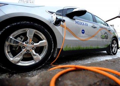 В Москве открылась первая заправка для электромобилей