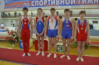 Чебоксарские гимнасты завоевали путевки на финал первенства страны