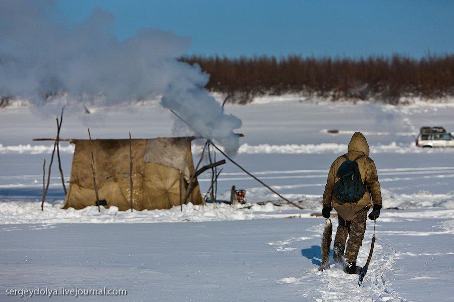 экспедиции по тайге рыбалка