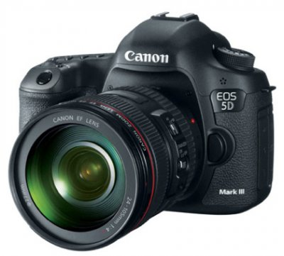 Canon представил долгожданную зеркалку EOS 5D Mark III. ФОТО