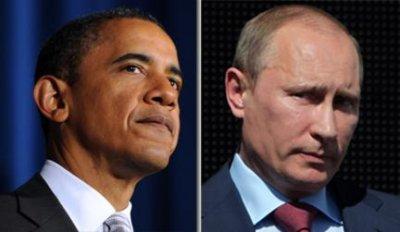 Обама поздравил Путина с победой на президентских выборах