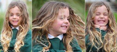 В Британии пятилетнего мальчика впервые постригли