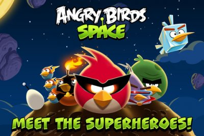 Вышла игра Angry Birds Space