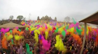 Фестиваль красок в Юте