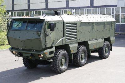 Бронеавтомобиль КАМАЗ «Тайфун» или «Триумф»