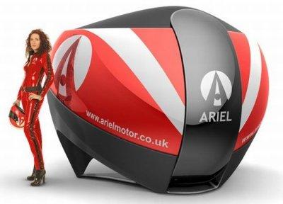 Ariel Motor Company построила самый реалистичный симулятор автогонок